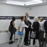 "Vernissage ""Urban Sketchers: Olivia Aloisi, Eva Eder, André Sandmann"" in der Galerie im Gluri Suter Huus, 26.8.2018 © Eva Eder, 2018"
