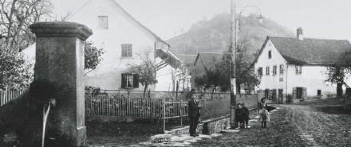 Das Dorf Wettingen