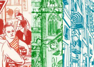Urban Sketchers: Olivia Aloisi, Eva Eder, André Sandmann