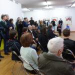 Vernissage Marc Elsener / Klodin Erb So 23.2.2020, ab 11 Uhr Ansprache Sarah Merten Ausstellungsraum 1. OG, Klodin Erb