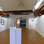 Ausstellungsansicht Marc Elsener, Dachgeschoss