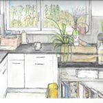 """28. März 2020: """"Küche"""", von Lucia Egloff"""