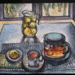 """28. März 2020: """"Teatime"""", von Tanja Bykova"""