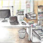 """31. März 2020: """"Home Office"""", von Lucia Egloff"""
