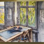 "3. April 2020: ""Window"", von Tanja Bykova"