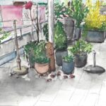 "19. April 2020: ""Terrasse"", von Lucia Egloff"