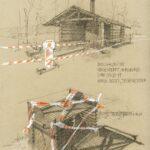 "26. April 2020: ""Bollwaldhütte"", von Irene Karpiczenko"