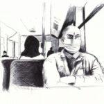 """30. April 2020:  """"Busfahrt"""", von Rittiner + Gomez"""