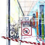 """7. Mai 2020: """"Lockdown Schule Seengen – letzte Tage"""", von Eva Eder"""