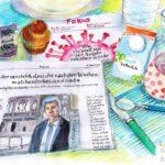 """9. Mai 2020: """"Frühstück mit Marcel Salathé"""", von Eva Eder"""