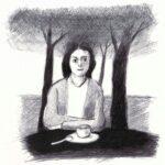 """18. Mai 2020: """"Kaffeeetrinken"""", von Rittiner + Gomez"""