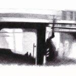"""15. Juni 2020: """"Warten auf den Bus"""", von Rittiner + Gomez"""