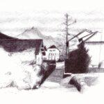 """21. Juni 2020: """"Dorfstrasse Einigen"""", von Rittiner + Gomez"""