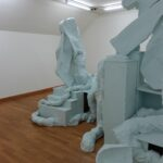 Ausstellungsansicht Simone Holliger und Markus Weggenmann, 1. Obergeschoss