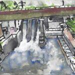 Lucia Egloff-Gurrath: Wasserkraftwerk Wettingen