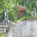 Lucia Egloff-Gurrath: Brunnen beim Roten Haus