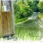 Sketchcrawl 4.7.21, Kloster: Adrienne Pearson