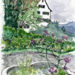 Sketchcrawl 4.7.21, Kloster: Esthi Birchmeier