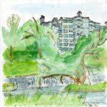 Sketchcrawl 4.7.21, Kloster: Mike Ursprung