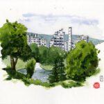Sketchcrawl 4.7.21, Kloster: Philipp Ege