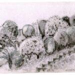 Sketchcrawl 4.7.21, Kloster: Sarah Roberts