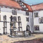 Tanja Bykova: Kloster Wettingen 04